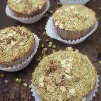 Brown Sugar Moong Muffins