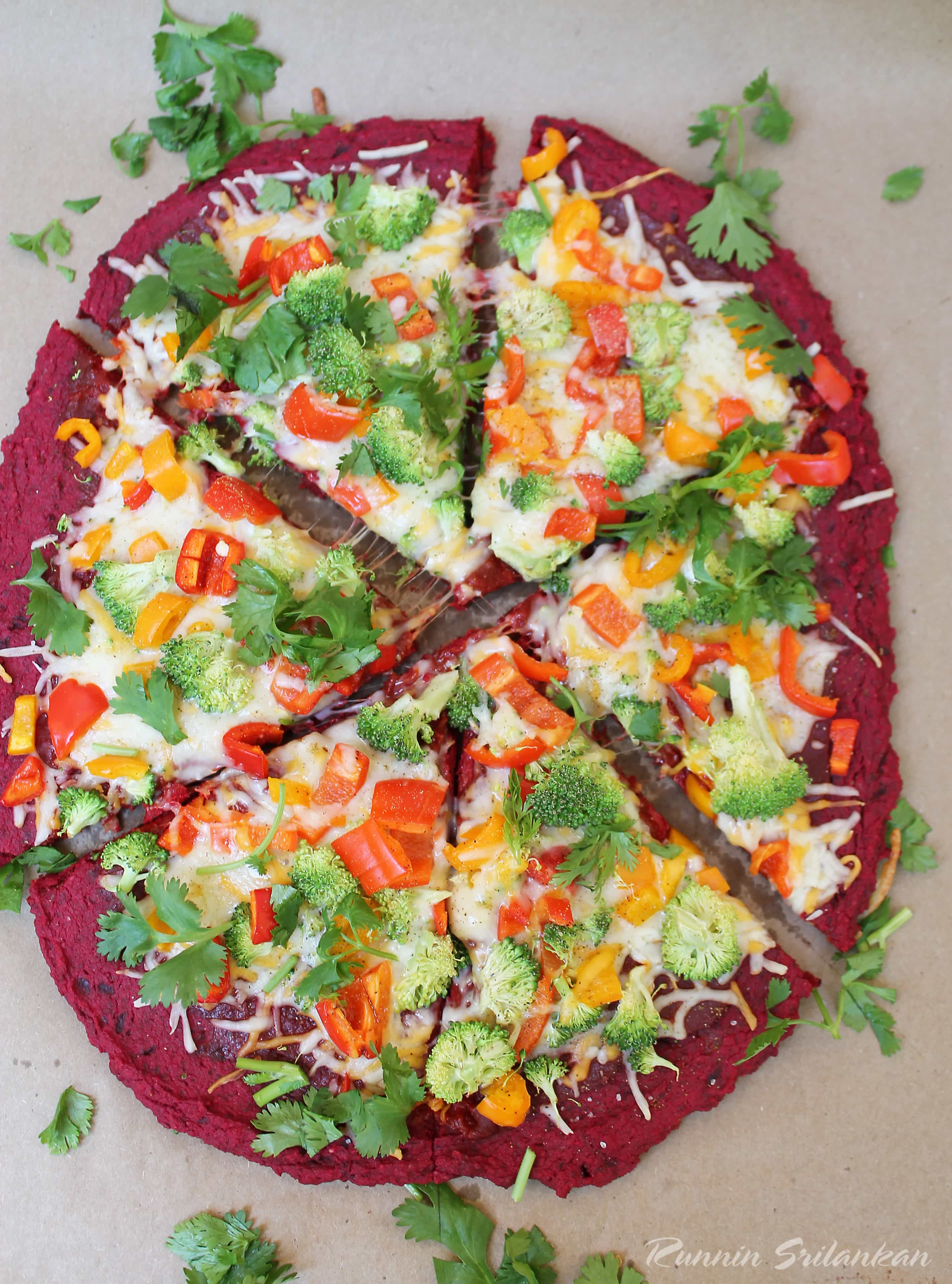 Beet Crust Pizza