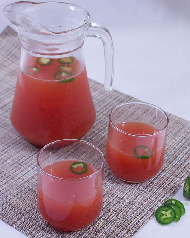 Melon and Chili Juice