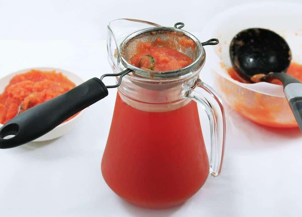 melon chili juice separation