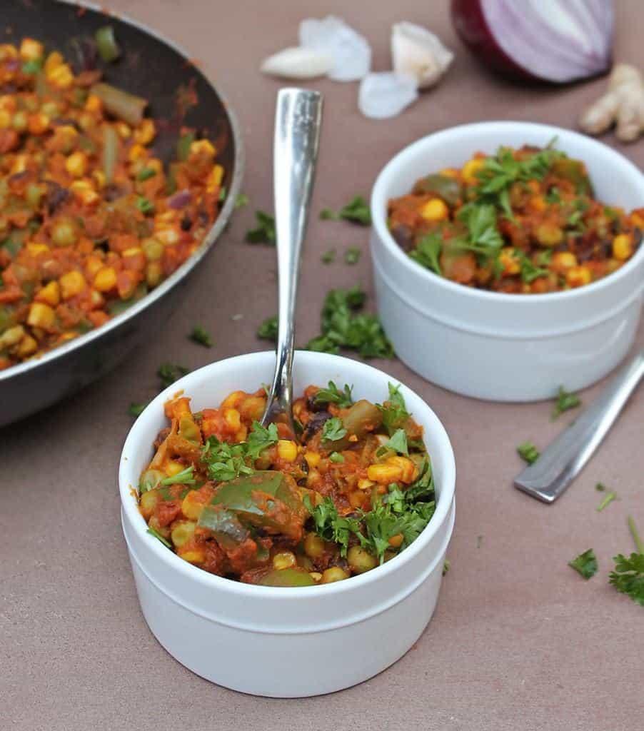 10-Minute-Vegetable-Stew