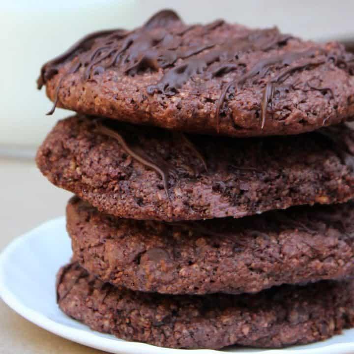 easy Chocolate Beet Cookies