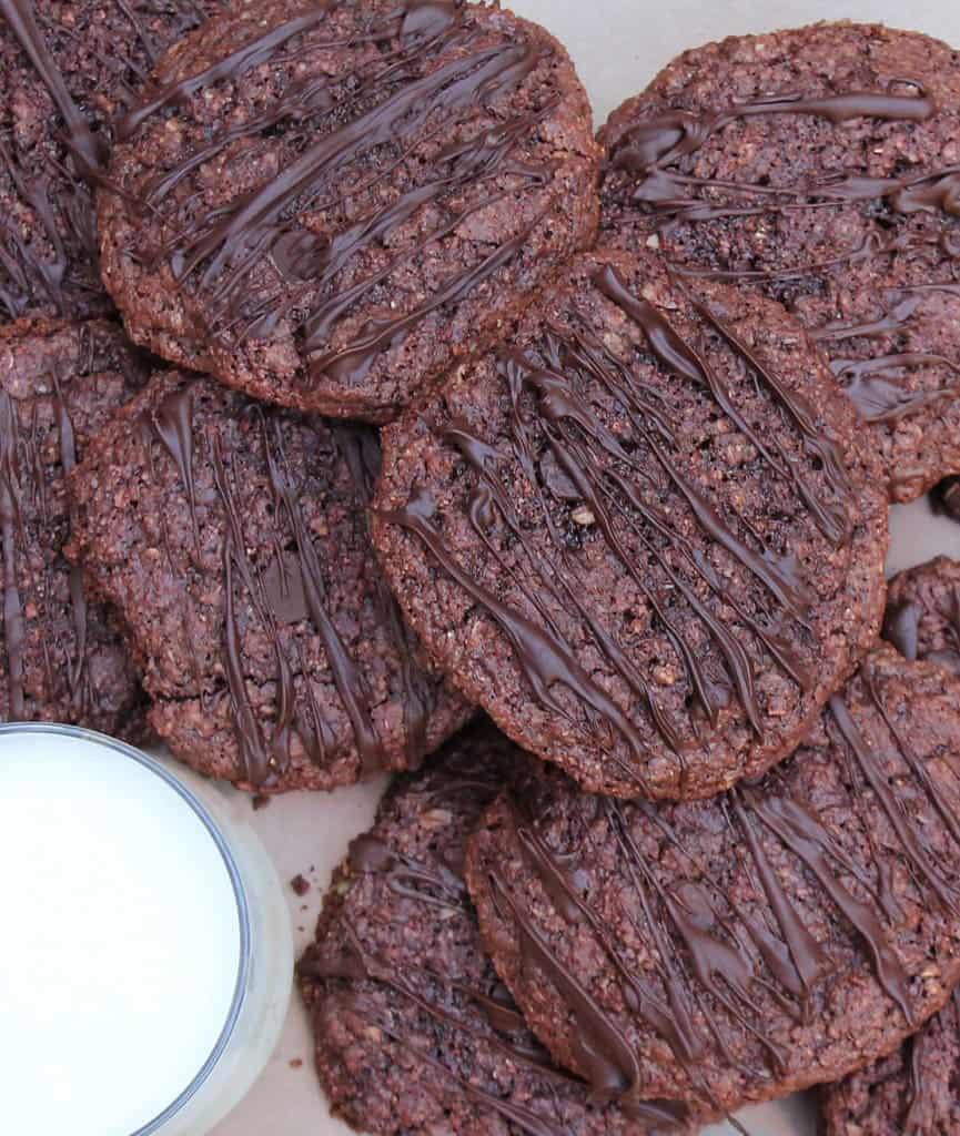 Chocolate and Beet Cookies