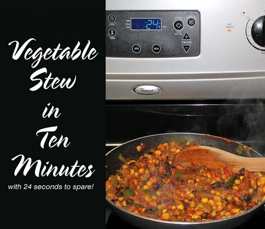 Quick and Easy Vegetable Stew