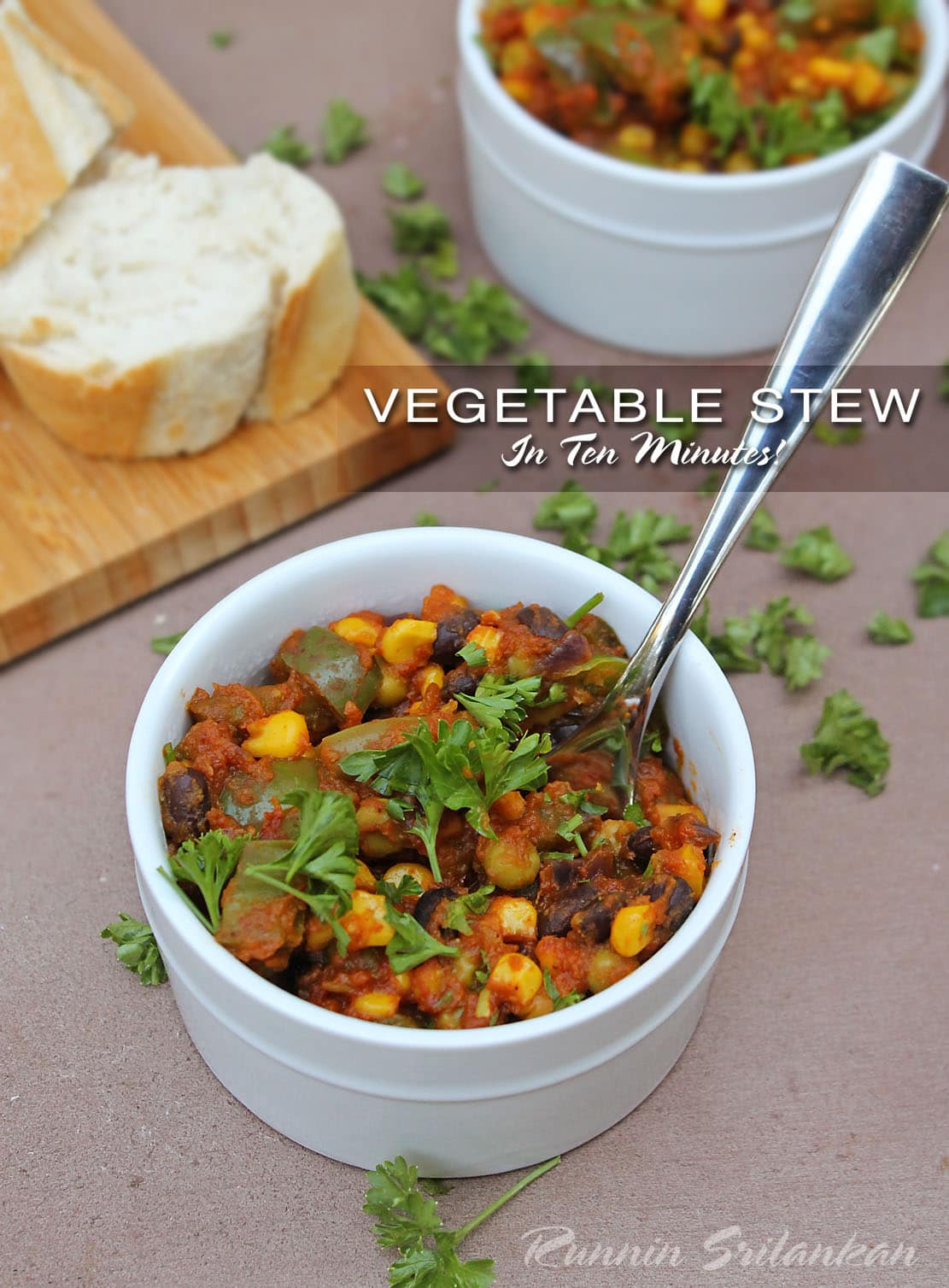 Vegetable Stew/Warm Salad in 10 Minutes {with Libby's Vegetable Pouches}