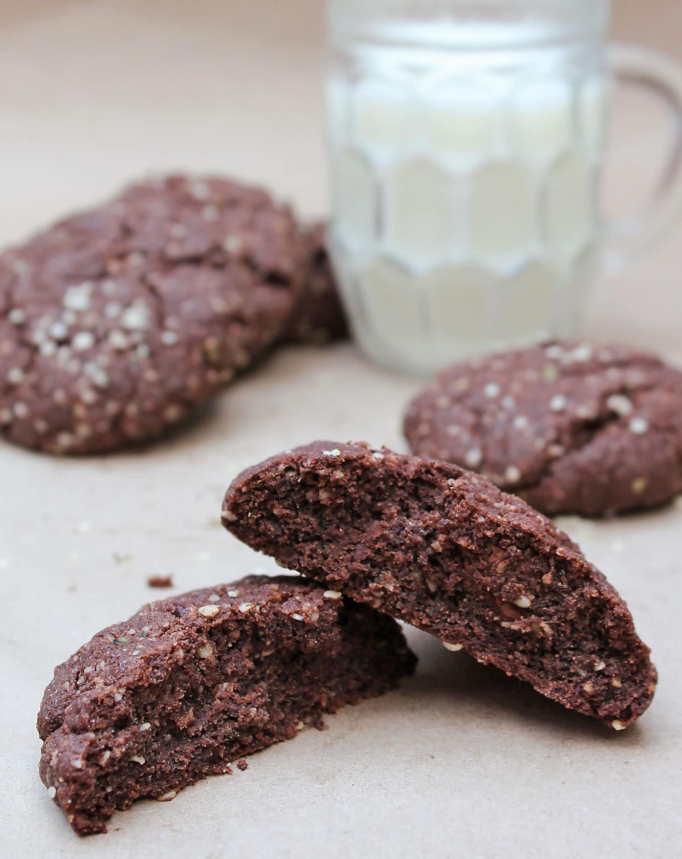 Hemp & Chocolate Breakfast Cookies {Recipe}