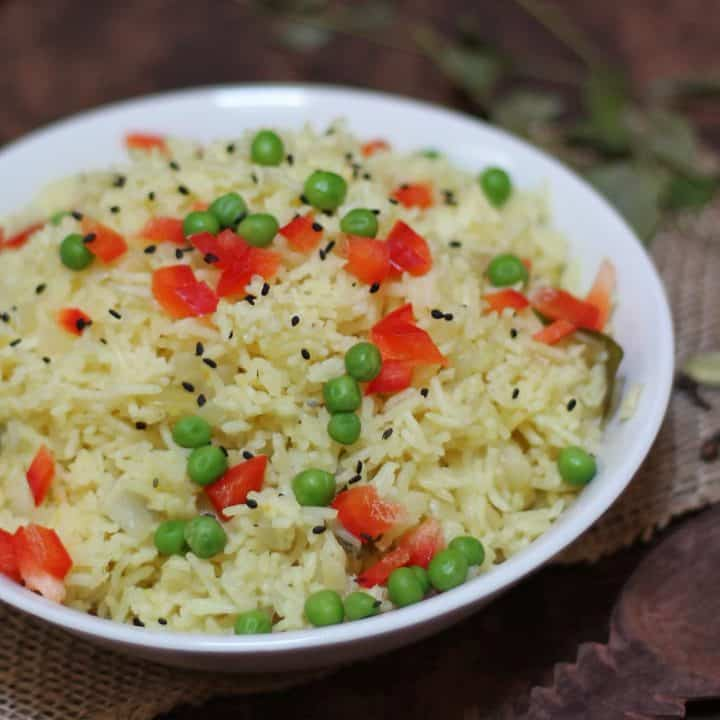 Spiced Rice Pilaff