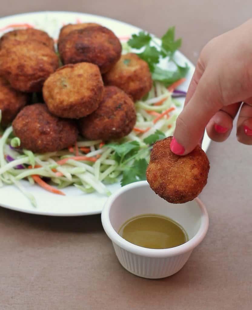 Tuna-Potato-Cutlets-Green-Jalapeno-Pepper-Sauce