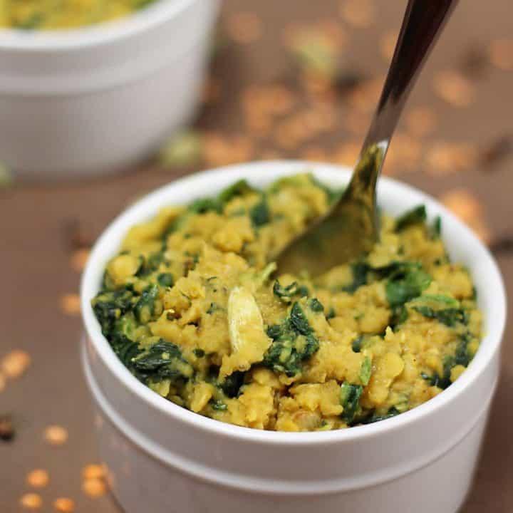Lentil & Spinach Stew