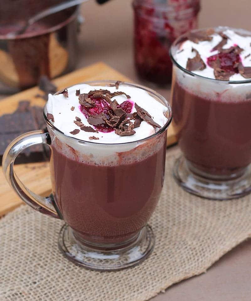 Beet Hot Chocolate @RunninSrilankan