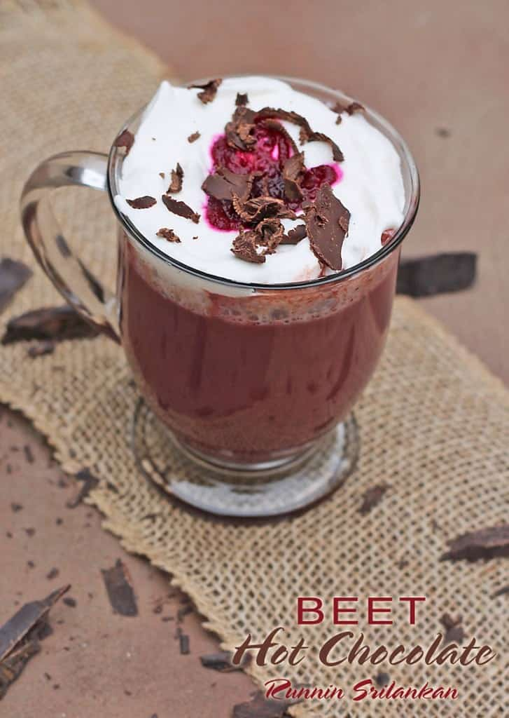 Beet Hot Chocolate @RunninSrilankan #beets