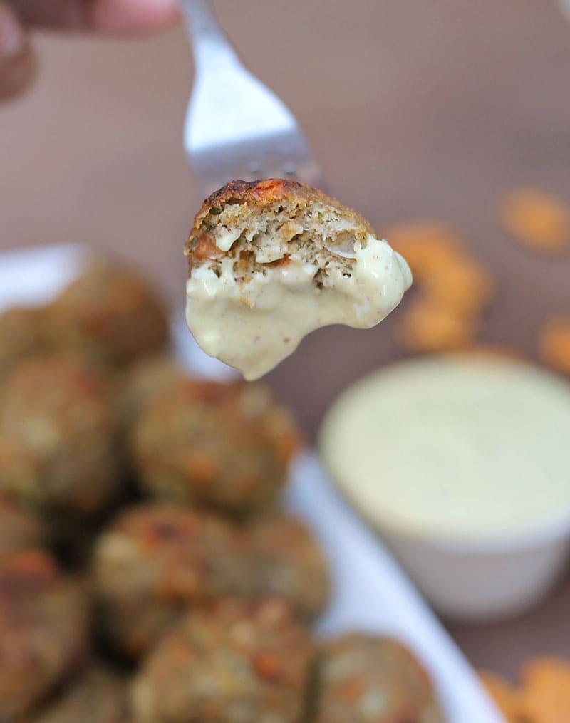 Bite-#GoldfishMix-Turkeyballs