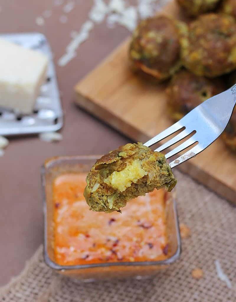 Cheddar-Stuffed-Turkey-Ball