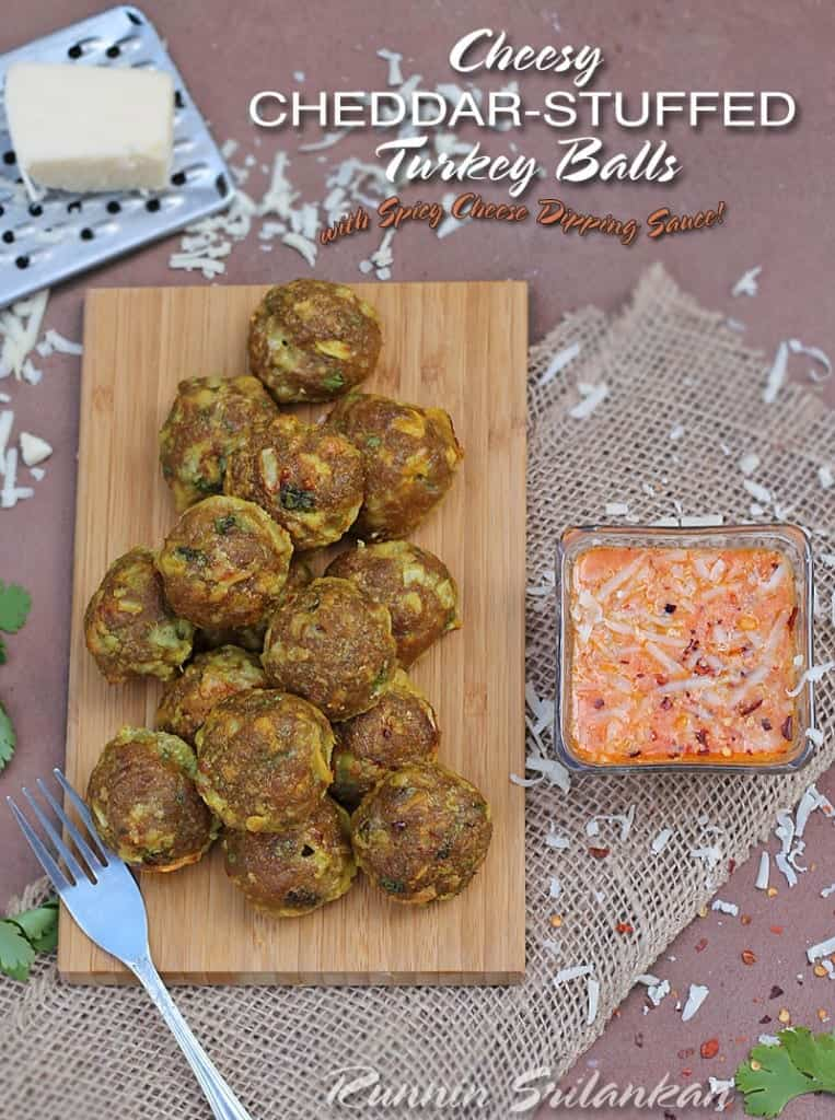 Cheesy-Cheddar-Stuffed-Turkey-Balls-@RunninSrilankan