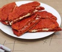 Red Velvet Cookies Beet Grilled Cheese