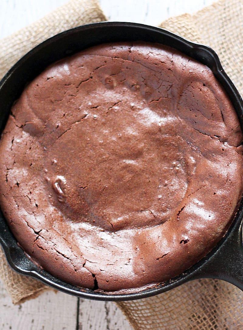 Flourless-Skillet-Cake @RunninSrilankan