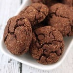 Made with just 10 ingredients, these gluten-free Mocha Breakfast Cookies are delicious and nutritious! They are great for breakfast or as a snack when you need a pick-me-up!