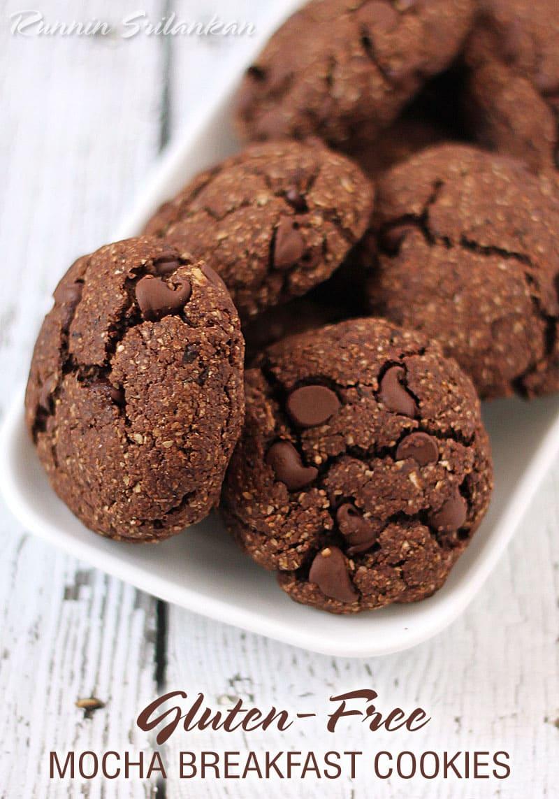 Mocha Breakfast Cookies {Gluten Free} - Runnin Srilankan