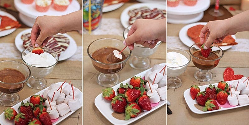 Rustic-Valentines-Day-HangOut-CoolWhip-Jet-Puffed-Marshmallows-Strawberries @RunninSrilankan