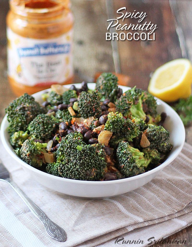 Spicy-Peanutty-Broccoli-Super-Simple @RunninSrilankan
