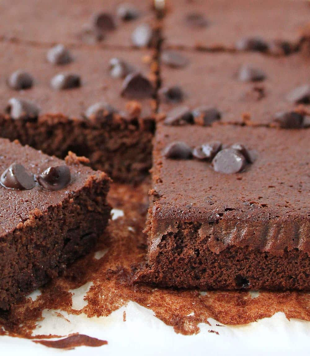 Flourless Chocolate And Squash Bars @RunninSrilankan