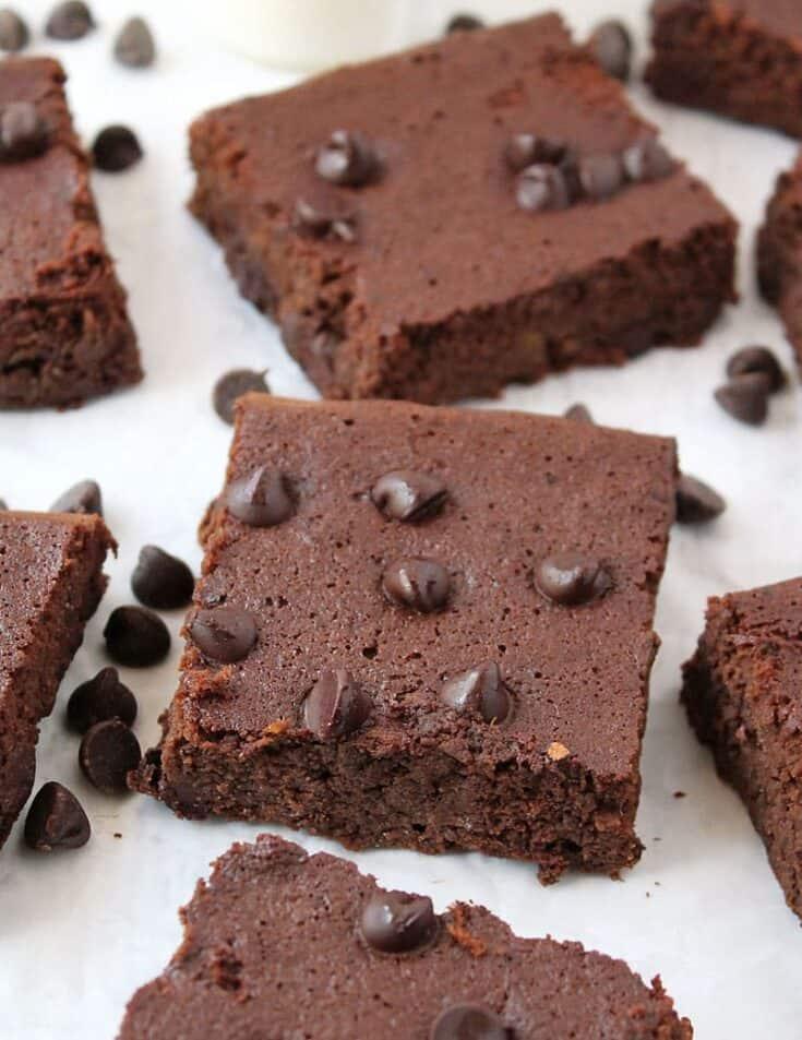 Gluten Free Double Chocolate Bars