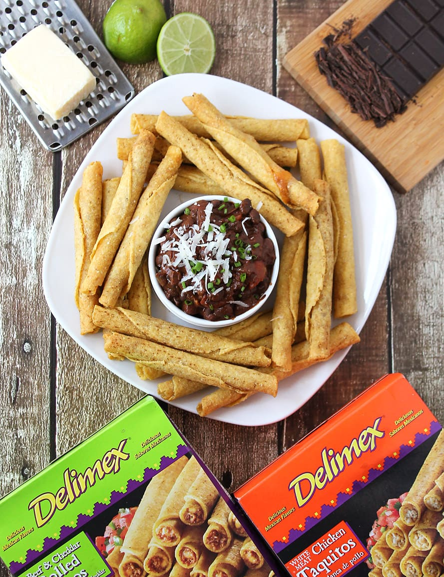 Spicy-Bean-Chocolate-Dip-@RunninSrilankan-#DelimexFiesta