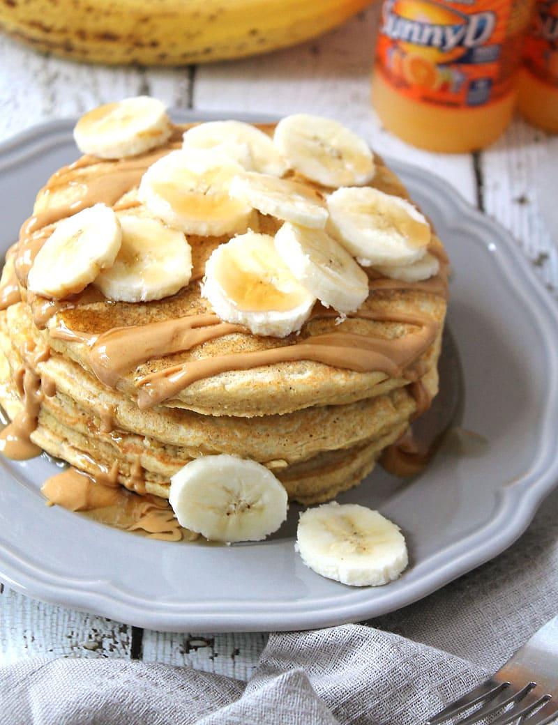 Soft and fluffy and oh so delicious! Banana-SunnyD-Pancakes-#WhereFunBegins-@RunninSrilankan