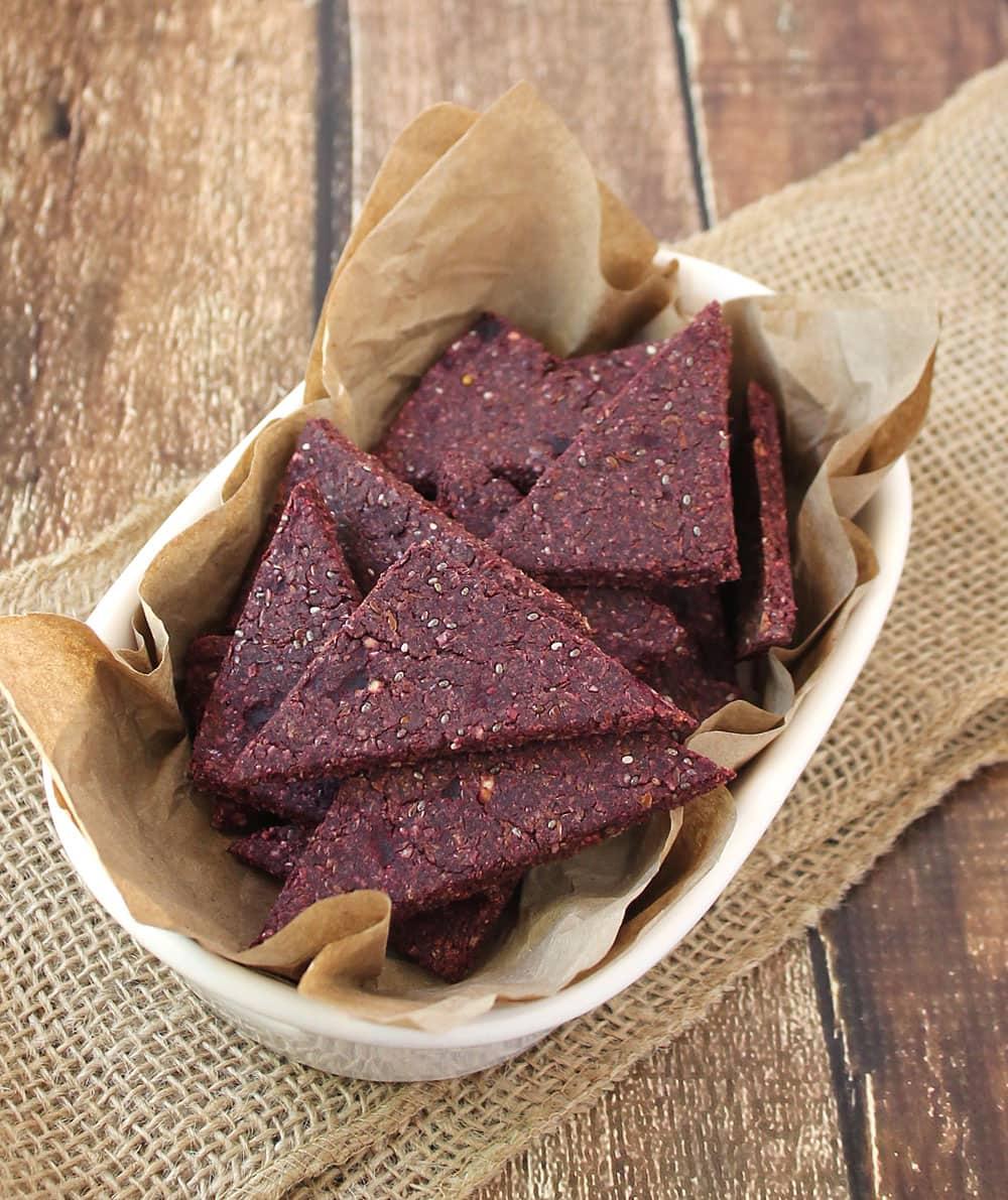 Beetified-Buckwheat-Beet-Flax-Crackers @RunninSrilankan