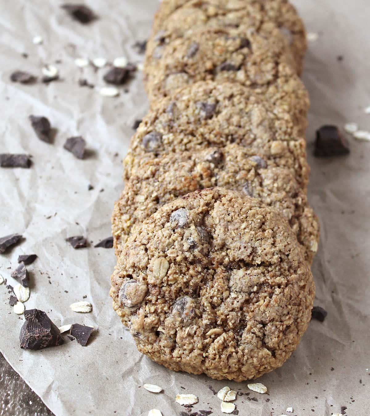Gluten Free Chocolate Oatmeal Cookies