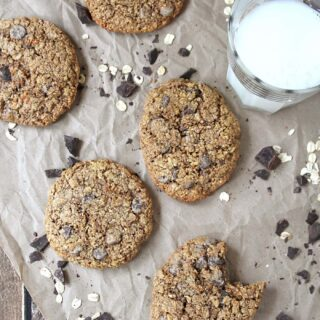 Oatmeal Chocolate Chip Cookies Gluten Free @RunninSrilankan