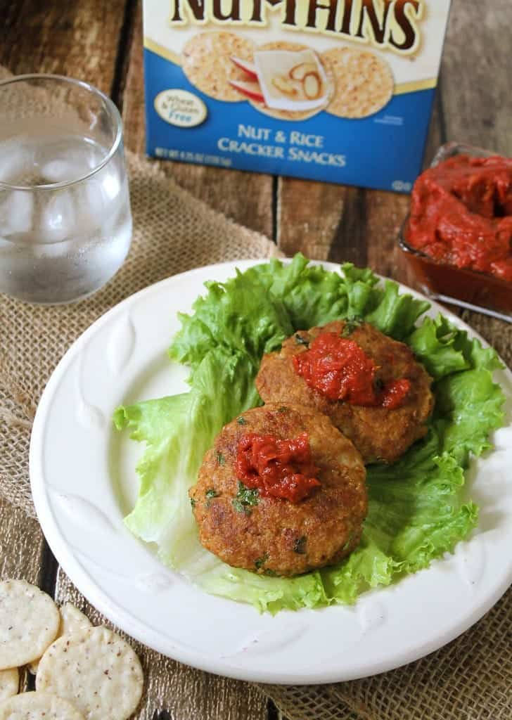 Turkey Alomd Burgers With Blue Diamond Nut Thins @RunninSrilankan