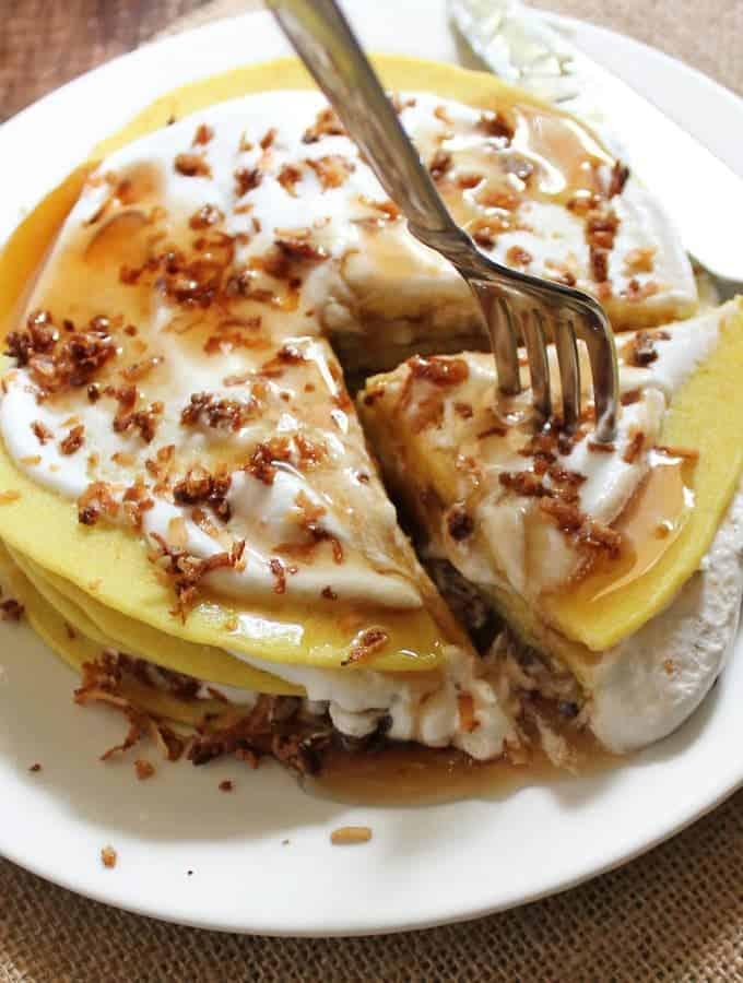 Sri Lankan Coconut Pancakes