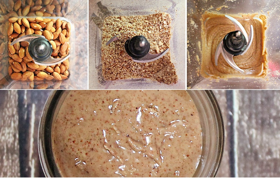 13 Minute Roasted Almond Butter