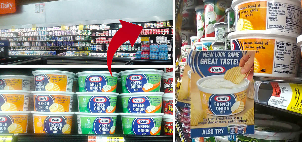 New - repackaged - Kraft Dip at Walmart
