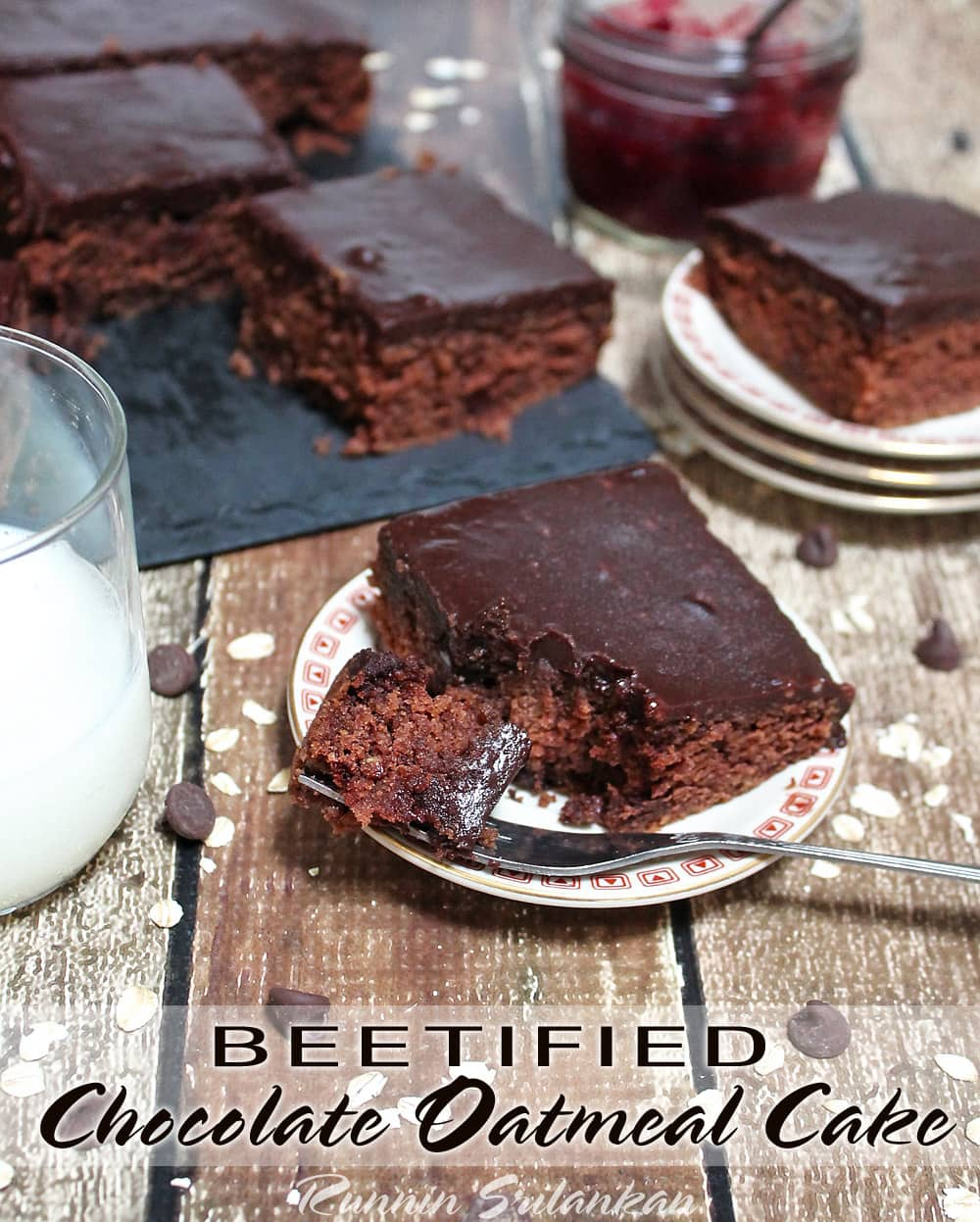 Beetified Pinch Of Yum's Best Chocolate Oatmeal Cake Ever