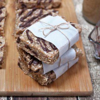 No-Bake Almond Chocolate Coconut Bars