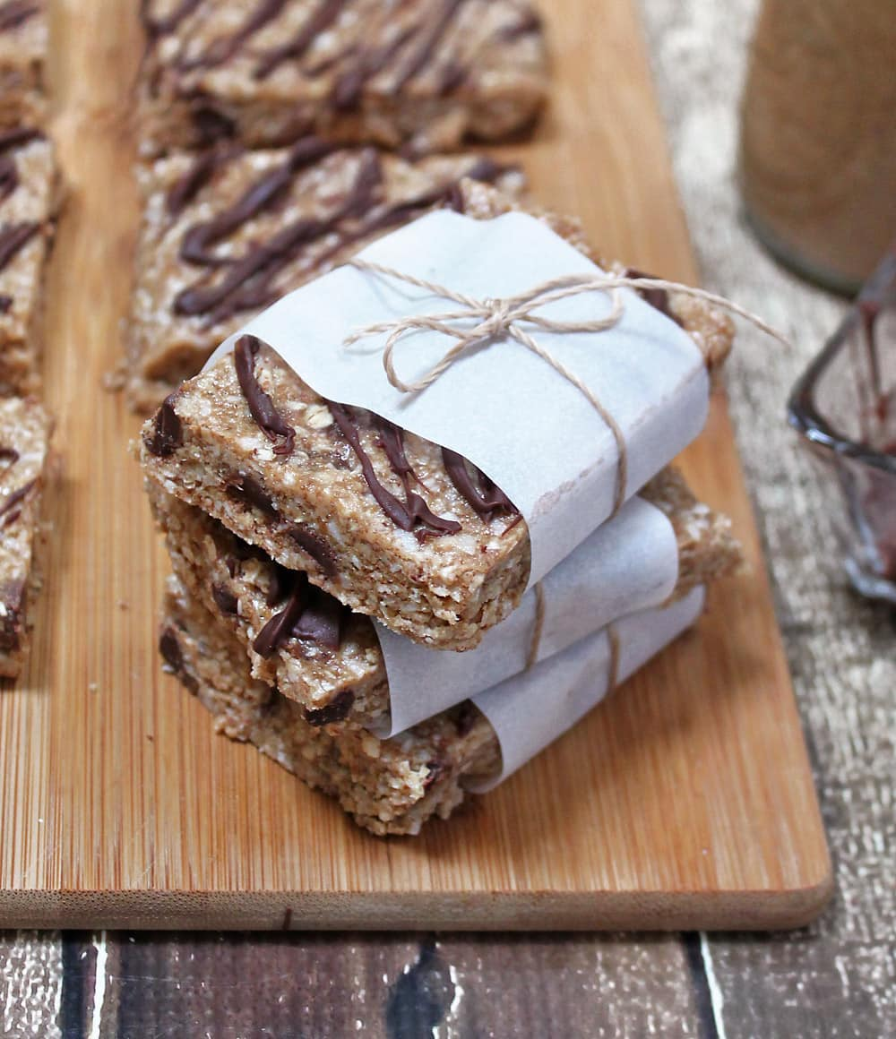 Almond Chocolate Coconut Bars