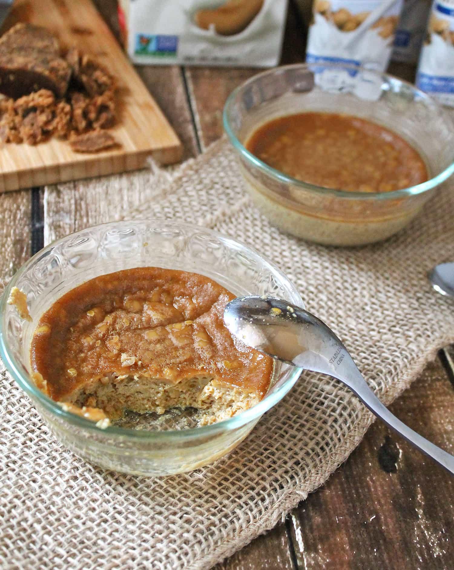 Cardamom Spiced Custard #SwapMilk4Silk