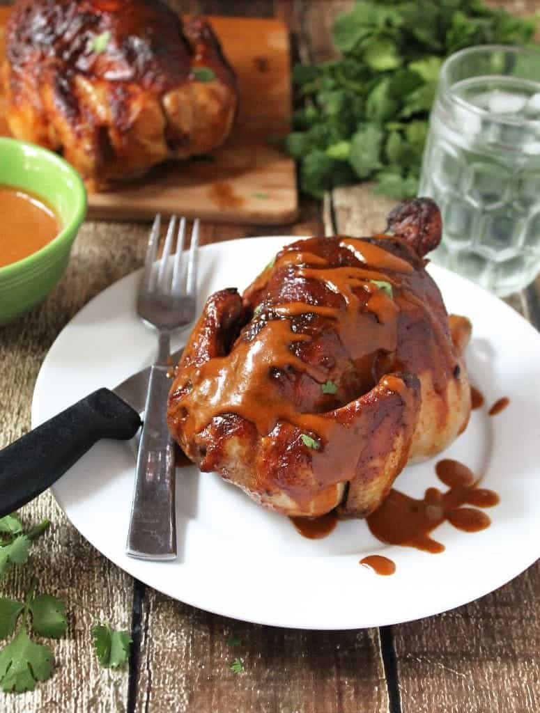 Spicy Sweet Teriyaki Curry Cornish Hens #JuicyGrilledCornish