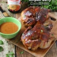 Ad: Spicy Sweet Teriyaki Curry Cornish Hens