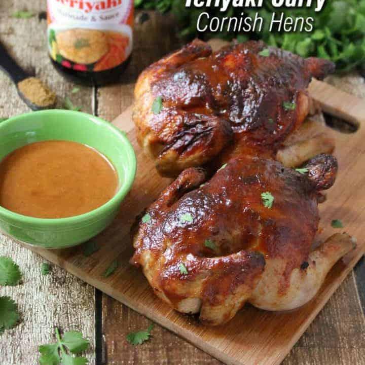 Ad: Spicy Sweet Teriyaki Curry Cornish Hens