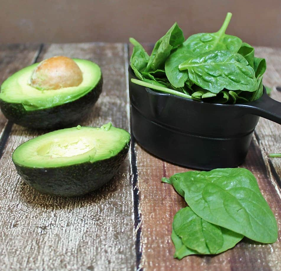 Spinach Avocado Cupcakes