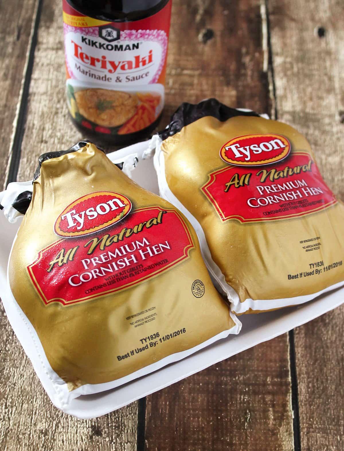Tyson® Cornish Hens Kikkoman® Sauce