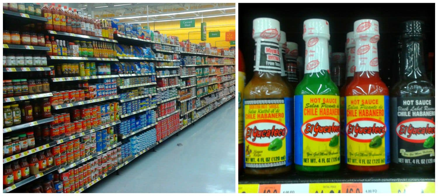 El Yucateco Hot Sauce @ Walmart