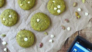 Gluten Free Pistachio Cookies • Unlimited Talk Text and Data/Web