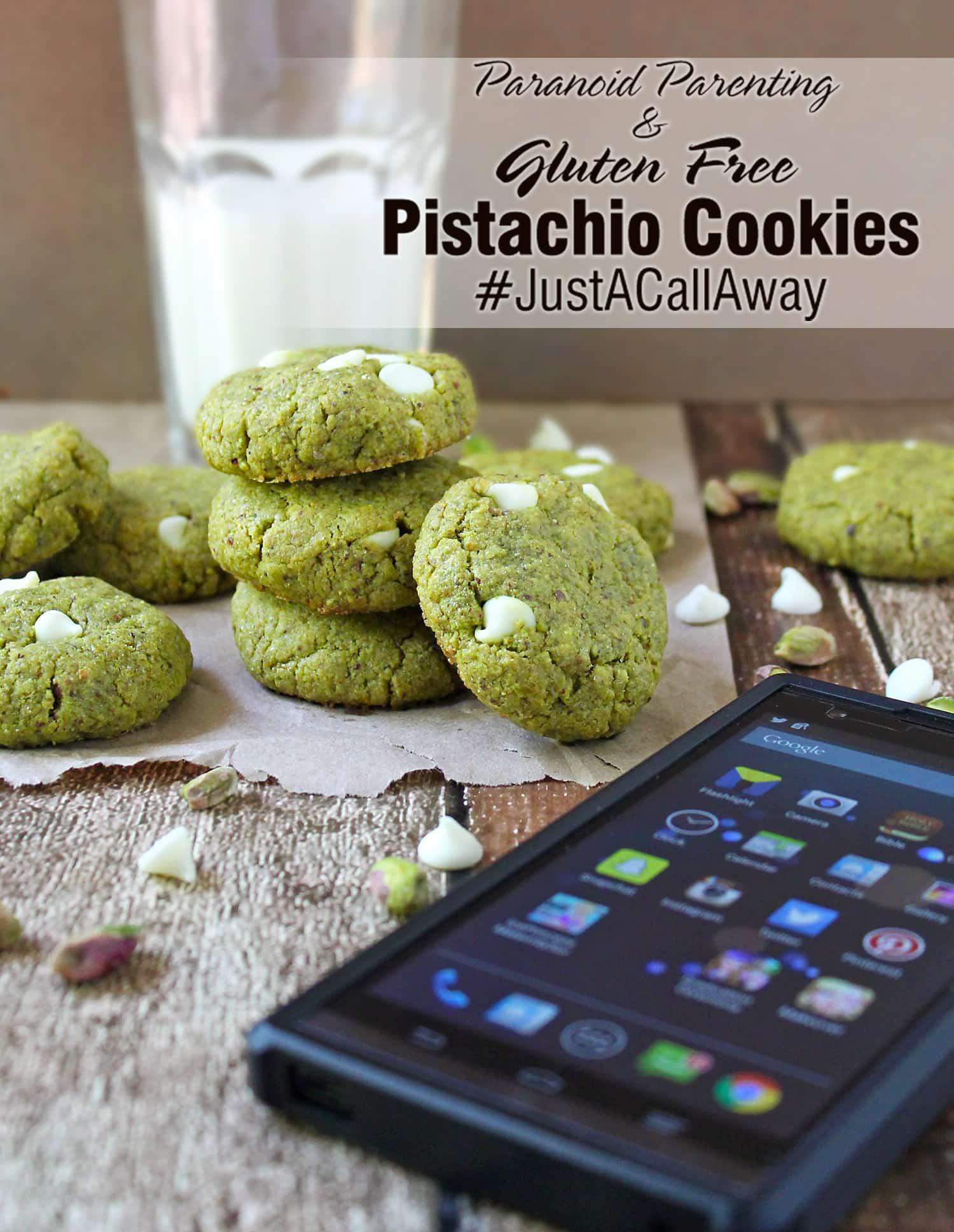 Pistachio Cookies Gluten Free #JustACallAway