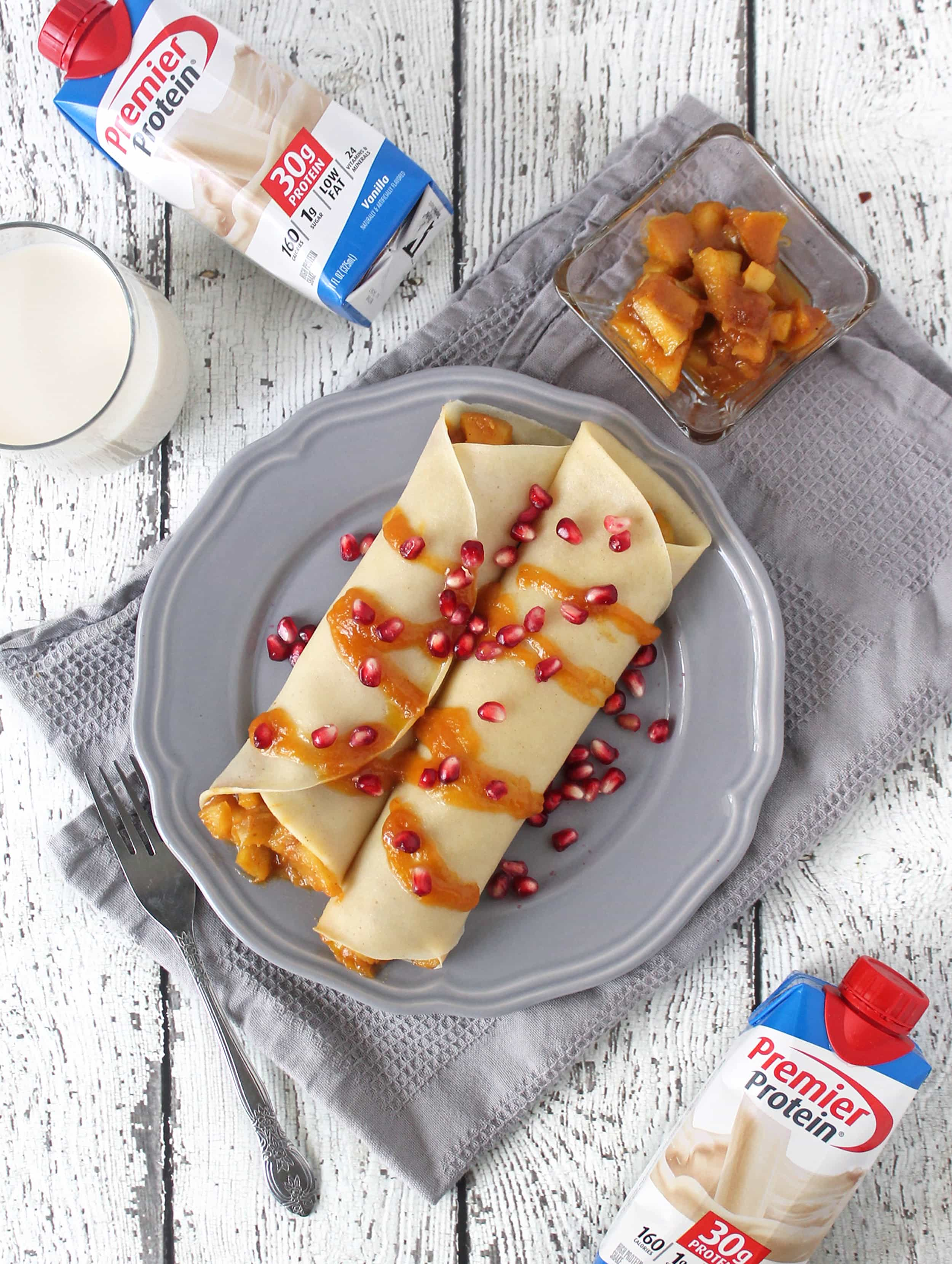 Premier Protein Crepes