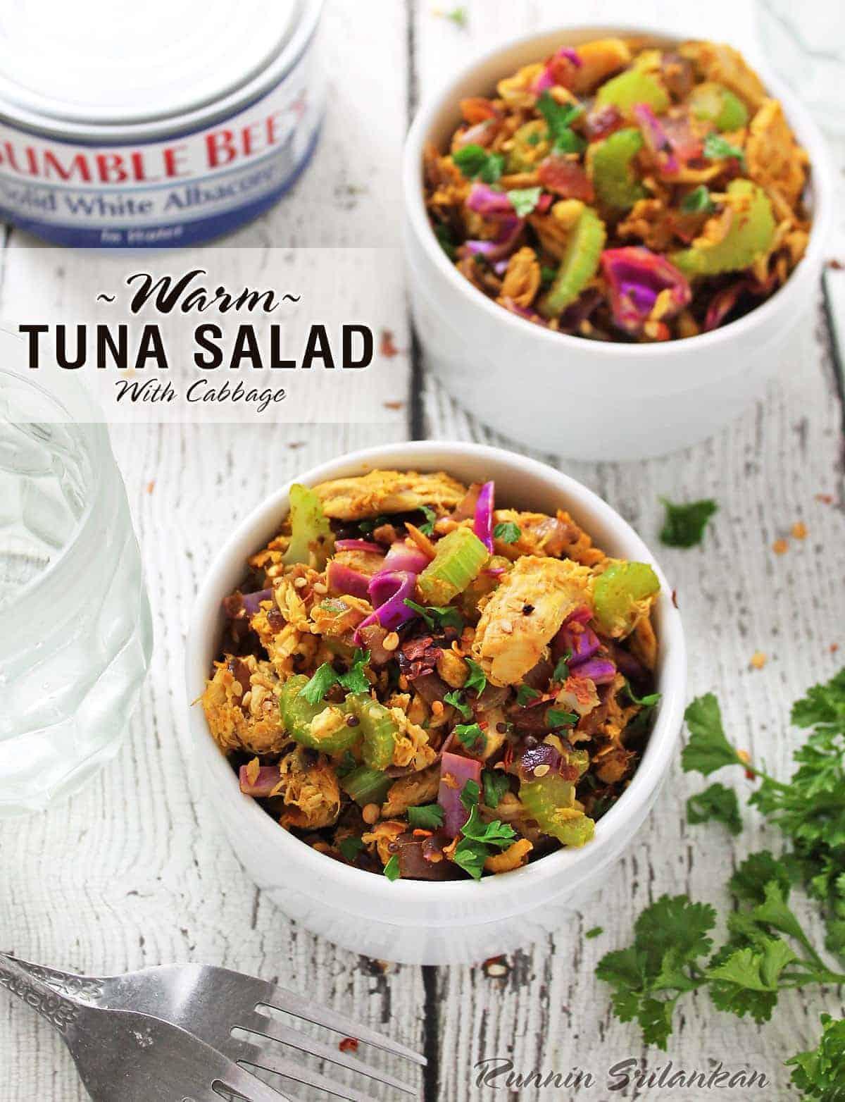 Warm Tuna Salad With BumbleBee