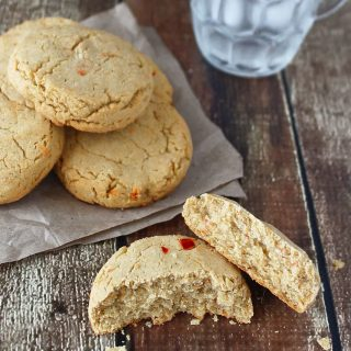 Biscuits With Sorghum Flour And Hummus